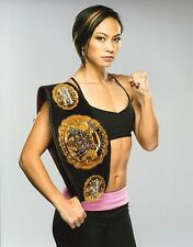 Michelle Waterson UFC 11x14 Photo The Karate Hottie Picture w/ Invicta FC Belt 5