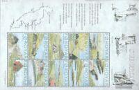 Dänemark-Färöer 473-482 Kleinbogen (kompl.Ausg.) postfrisch 2004 Insel Suouroy