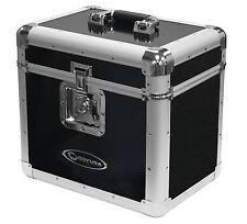 "NEW! Odyssey KLP1-BLACK KROM for 70 12"" LP Vinyl Records Utility Transport Case"