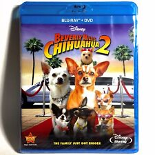 Beverly Hills Chihuahua 2 (Blu-ray/DVD, 2010) Brand New !  Walt Disney's