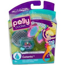 POLLY POCKET T3548/T3551 FISHBOWL FISH AND SHELLERFLY FIGURES NEU & OVP!