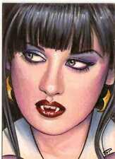 Vampirella 2011 Trading Cards Sketch Card drawn by Sean Pence
