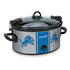 Detroit Lions Crock Pot Slow Cooker NFL Football Lion Great Gift Tailgate Party