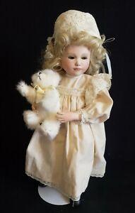 "Jan Hagara ""Peggie Sue""  Doll  15"" Porcelain LNC in original box"