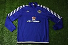 NORTHERN IRELAND 2015/2016 FOOTBALL SWEATSHIRT SWEAT TRAINING ADIDAS ORIGINAL