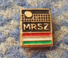 HUNGARY VOLLEYBALL FEDERATION 1970's SMALL PIN BADGE
