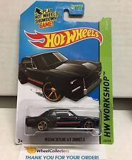 Nissan Skyline H/T 2000GT-X #225 * BLACK * 2014 Hot Wheels * J4