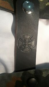 x4 fatboy Maltese cross black vest extenders #130