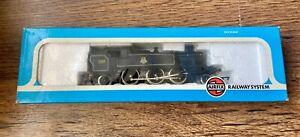 AIRFIX 'OO' GAUGE 54151-4 BR BLACK PRAIRIE 2-6-2 TANK LOCOMOTIVE BOXED VGC