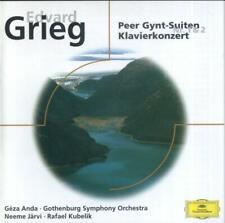 Edvard Grieg - Peer Gynt Suiten Nos.1 & 2, Klavierkonzert (Anda, Järvi, Kubelik)