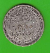 Ägypten 10 Piaster 1916 besser als sehr schön hübsch nswleipzig