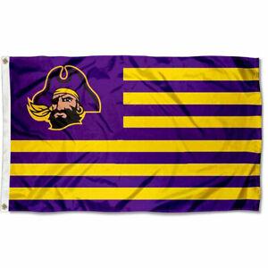 East Carolina Pirates Black Car Flag College Flags /& Banners Co