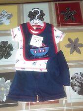 Baby 4 Piece Clothing Set SEALING SHIP Design BY BEBE BONITO SIZE ; 3-6