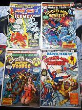 Marvel Team-Up #22 #23 #24 #25  Spider Man Hawkeye Daredevil Awesome Lot L@@K!!!