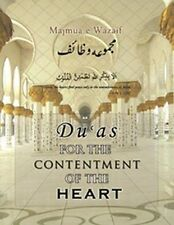 Du'aas for the Contentment of the Heart HB, Majmua-e-Wazaa'if, Islamic Pray Book