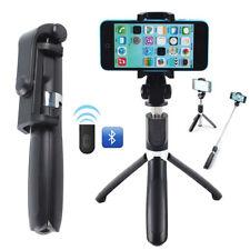 Telescopic Selfie Stick Bluetooth Tripod Monopod Phone Holder For iPhone Samsung