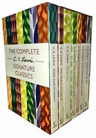 The Complete Signature Classics C.S Lewis 7 Books Collection Boxed Set BRAND NEW