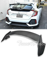 For 16-Up Honda Civic Hatchback CARBON FIBER Rear Trunk Spoiler Type R Style