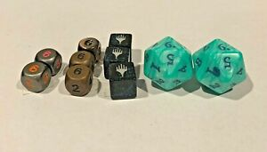 Assorted dice - 6sided and 20 sided