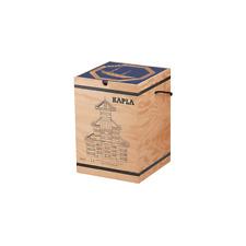 KAPLA Holzbaukiste 280 Holzbausteine Steine mit Buch
