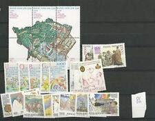 1986 MNH Vaticano year collection