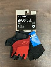 Giro Bravo Gel Cycling Gloves Size Medium Red New