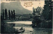 CPA   Les Marches (Savoie) -Lac St-André et Mont Granier (1938 m)   (438477)