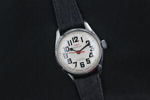 1960's Waltham Round Dr's Doctor's 17 Jewel Men's Vintage Watch