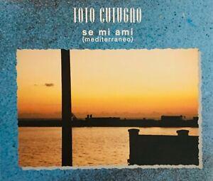 Toto Cutugno – Se Mi Ami (Mediterraneo)   CD  