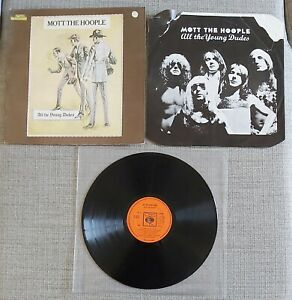 MOTT THE HOOPLE-ALL THE YOUNG DUDES-UK ISSUE LP ON CBS RECORDS-1972-FAIR.COND