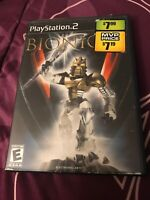 Bionicle (Sony PlayStation 2, 2003) No Booklet