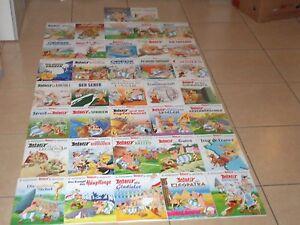 Comics komplette Asterix & Obelix Sammlung 37 Bände 1-37 ungelesen!