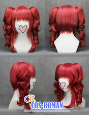 VOCALOID kasane teto Cosplay wig costume Red colour 043B