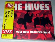 The Hives ‎- Your New Favourite Band / JAPAN CD (2002) NEW / Yellow OBI