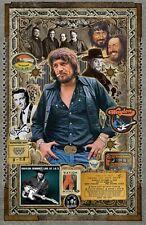 "Waylon Tribute poster - 11x17"" - Vivid Colors!"