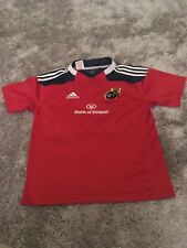 Garçons Munster Rugby Union adidas Replica Chemise Âge 11-12 ans