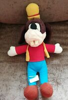 "Disney Goofy Plush Soft Toy Vintage 1989 80s 15"" Collectable"