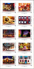 France 2014 Christmas in Alsace 2, Block of 10 Stamps Self Adh Ex booklet, MNH