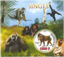 Mali - Scimmie - Souvenir Foglio - 13h-342
