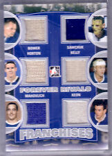 12/13 ITG FOREVER RIVALS FRANCHISES BOWER HORTON MAHOVLICH SAWCHUK KELLY KEON/9