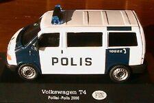 VW VOLKSWAGEN T4 VAN FINLANDE POLIISI POLIS 2000 1/43 HELSINKI FJORD MINI BUS