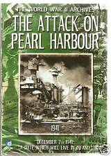 WORLD WAR II ARCHIVES DVD THE ATTACK ON PEARL HARBOUR