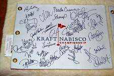 KRAFT NABISCO DELUXE FLAG SIGNED BY 27+ GULBIS,CREAMER
