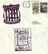USS DANIEL BOONE SSB (N) 629 SUBMARINE NAVAL COVER 19 JULY 1974