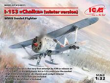 ICM 1/32 Polikarpov I-153 Chaika (Winter Version) # 32011