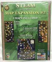 Steam Rails to Riches map expansion #2 Brand New Mayfair Games