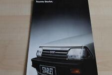 105727) Toyota Starlet Prospekt 04/1987