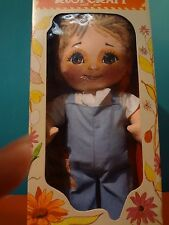 "VTG 1975 Rustie Rust Craft Country Boy 13"" Cloth Doll with Box"