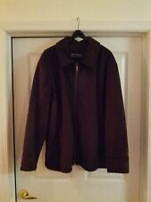 New: Unused /  Unworn Men's Perry Ellis Portfolio Brown Jacket Size XXL