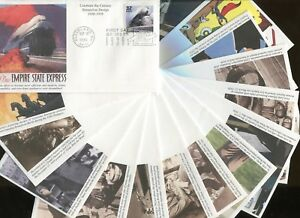 1998 Cleveland Ohio Celebrate the Century 1930's First Day Cover Set of 15